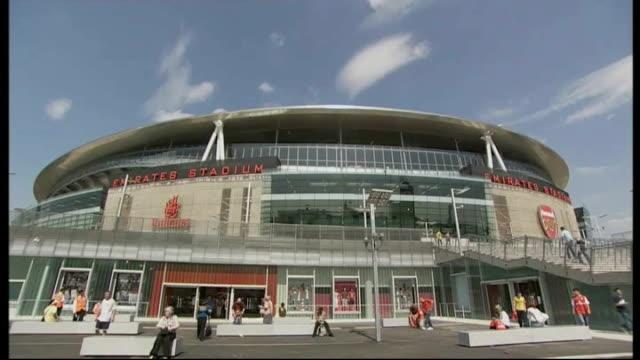 newcastle united's st james' park stadium renamed london general views of emirates stadium bolton general views of reebok stadium - st. james' park newcastle upon tyne stock videos & royalty-free footage