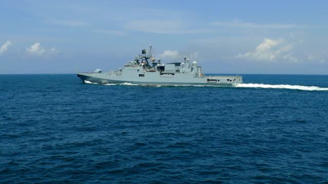 nouvelle frégate lance-missiles de la Russie