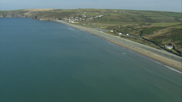 newgale sands - wales stock videos & royalty-free footage