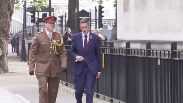 Newly appointed Defence Secretary Gavin Williamson is greeted outside the Ministry of Defence as he enters the building The former chief whip...