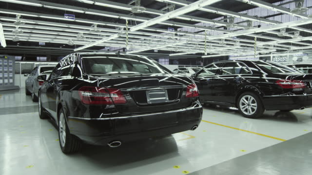 MS DS Newly built car in factory inspection area / Samut Prakan, Bang Muang Mai, Thailand