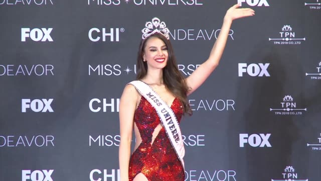 newly crowned miss universe catriona gray of the philippines says she would like to expand her work in the slums of her country's capital manila with... - retrovirus video stock e b–roll