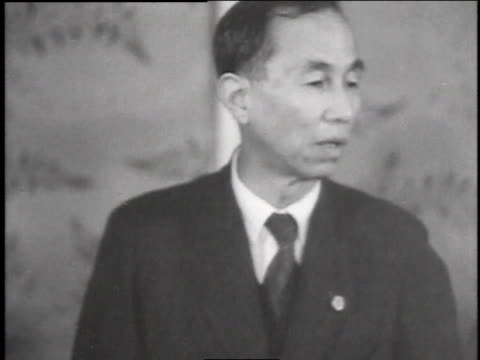 newly elected members of the national assembly / japan - anno 1947 video stock e b–roll