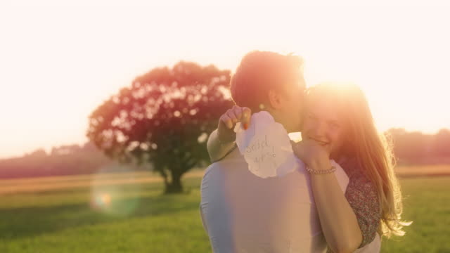 newly engaged couple - yes single word stock videos & royalty-free footage