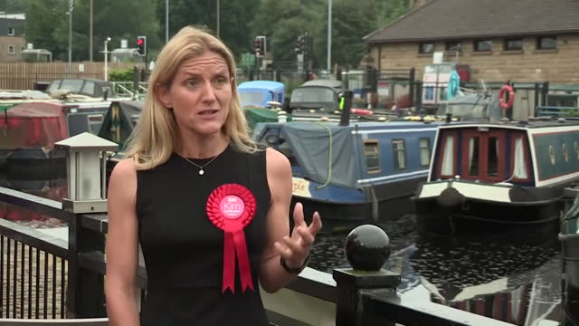 """newly-elected kim leadbeater saying there is """"no room for abuse and intimidation"""" after winning the batley and spen by-election - party social event stock videos & royalty-free footage"""