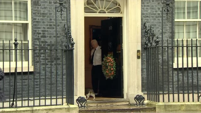 stockvideo's en b-roll-footage met newlyelected parliament sits for the first time / boris johnson's brexit bill to block transition extension uk london prime minister boris johnson... - harder