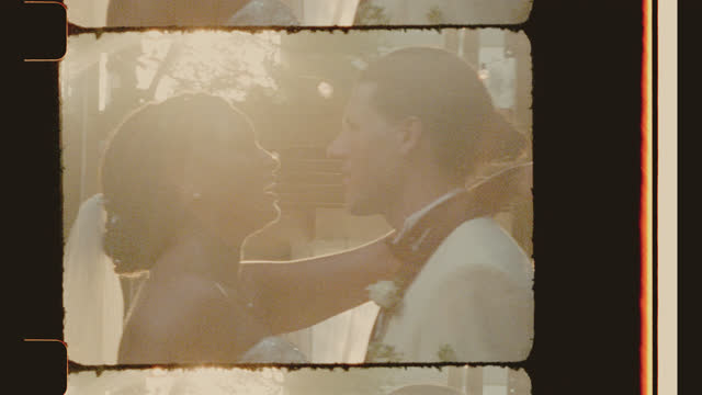 cu newlyweds sing and dance with one another - eternity stock videos & royalty-free footage