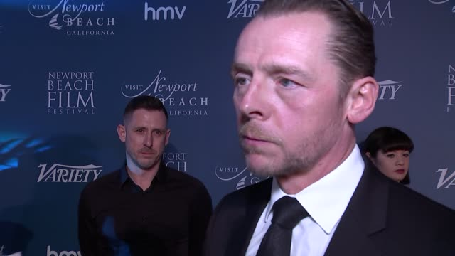 Newport Beach Film Festival annual UK honours Simon Pegg interview on Oxfam abuse scandal ENGLAND London The Rosewood Hotel PHOTOGRAPHY*** Simon Pegg...