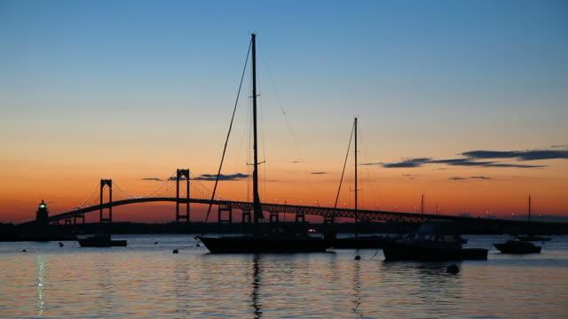 vidéos et rushes de newport, rhode island - rhode island