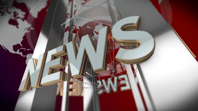 News Background - Looping Motion Background
