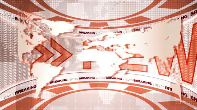 vídeos y material grabado en eventos de stock de noticias de fondo - sala de prensa