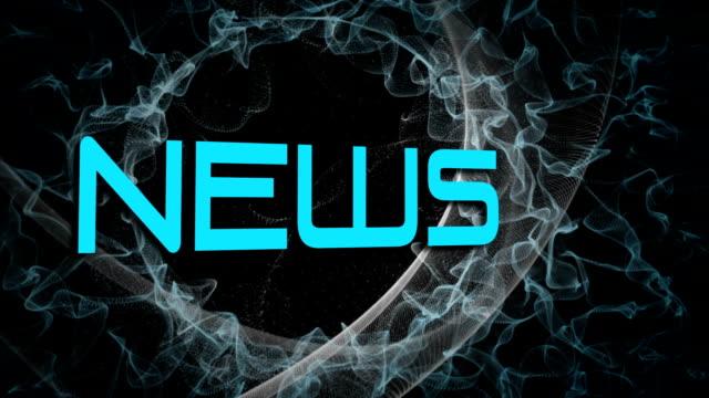 News broadcast design