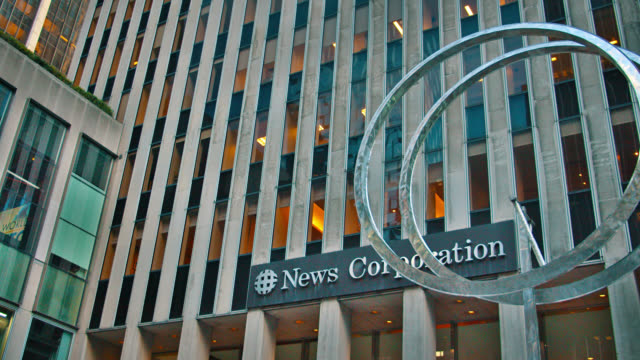 vídeos y material grabado en eventos de stock de news corporation. new york - reportaje imágenes