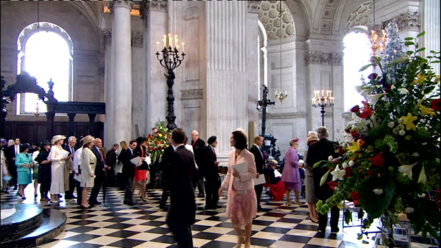 International Clean Feed 0830 0930 INT **Music heard SOT** Guests receiving Orders of Service People arriving at Cathedral INT Guests receiving...