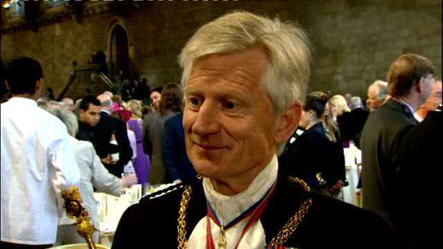 1100 1200 westminster hall alistair stewart interviews lt gen david leakey anton mossimann and will dixon in great hall sot leakey and mossimann /... - will.i.am stock videos & royalty-free footage