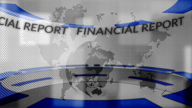 news.  finanzbericht. - bericht film und fernsehen stock-videos und b-roll-filmmaterial