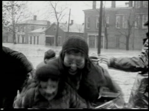 ohio river flood 1937 3 of 4 - 1937 stock videos and b-roll footage