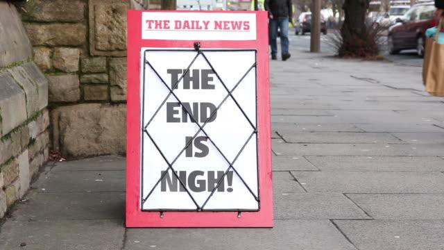 News Headline Board - The End is Nigh