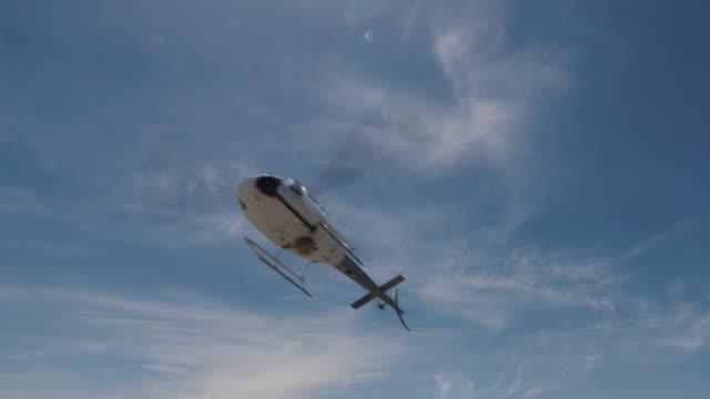news helicopter - helicopter stock videos & royalty-free footage