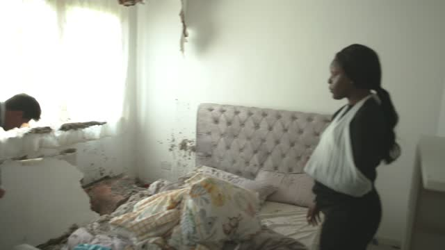 news housing investigation: calls for a new national body to represent tenants; england: london: lambeth: int various of adeola olutade interview as... - tenant stock videos & royalty-free footage
