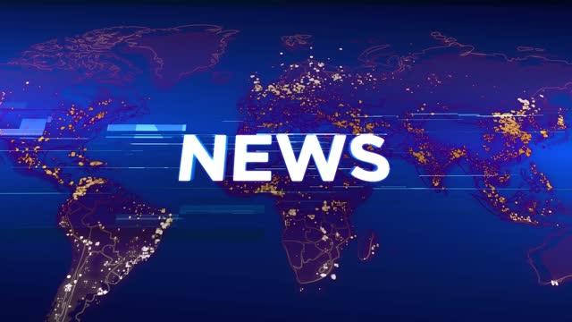 vídeos y material grabado en eventos de stock de noticias 4k - fondo gráfico de animación de tv multimedia. concepto de diseño de difusión. coronavirus se propaga en todo el mundo - reportaje imágenes
