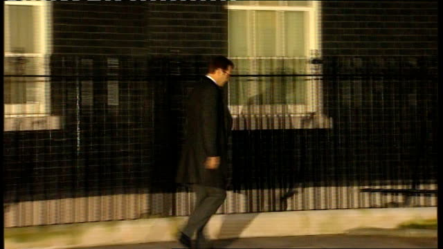 david cameron makes statement in parliament lib england london downing street photography ** andy coulson departing number 10 after resigning from... - window frame stock videos and b-roll footage