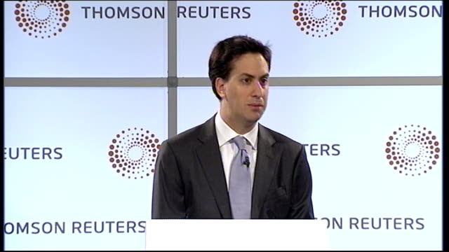 ed miliband mp speech ed miliband mp speech sot and the activities do not seem to have been limited to phone hacking it is now also alleged that it... - ed miliband stock-videos und b-roll-filmmaterial