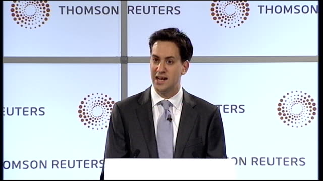 ed miliband mp speech ed miliband mp speech sot i strongly urge the government to take responsibilty and think again about how it is handling the... - ed miliband stock-videos und b-roll-filmmaterial