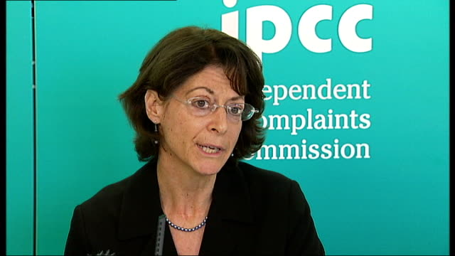 four police officers referred to IPCC Deborah Glass interview ENGLAND London INT Deborah Glass Deputy Chair Independent Police Complaints Commission...