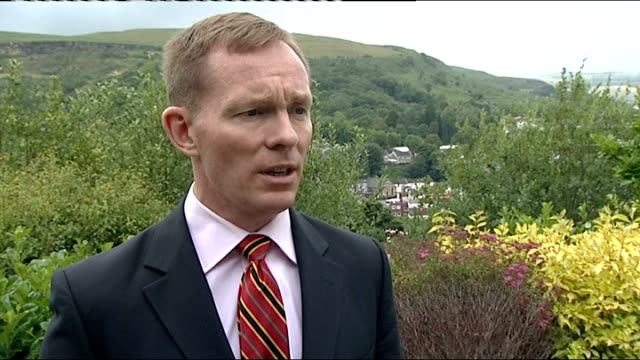 interview with chris bryant mp england yorkshire doncaster ext chris bryant mp interview sot delighted there is going to be a judge led inquiry /... - 盗聴点の映像素材/bロール