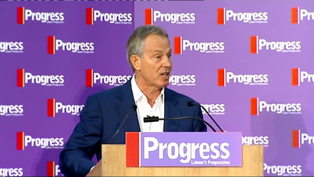 tony blair 5 some of these policies could be supported by people who don't vote labour that's not a bad thing in the real world of the 21st century... - equality now stock videos and b-roll footage