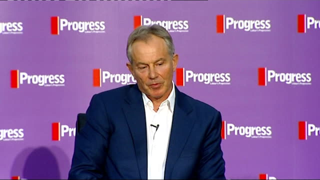 tony blair when i made my feral beasts speech i was either ignored or vilified for it twigg asks about what lessons can be learnt from the era when... - rhythm stock videos and b-roll footage