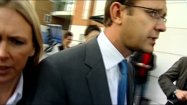 letter written by clive goodman released lib lewisham photography *** andy coulson leaving lewisham police station after being arrested and... - andy coulson stock videos & royalty-free footage