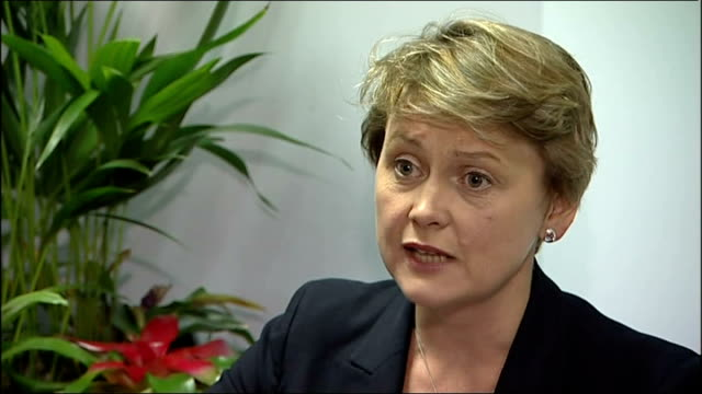 news international access to prime minister revealed london int yvette cooper mp interview sot prime minister has shown serious misjudgement - 盗聴点の映像素材/bロール