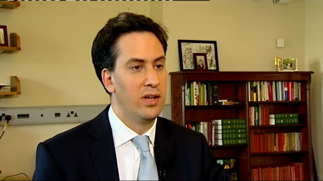 news of the world paper to close int ed miliband mp interview sot clearly people power that has forced this decision the revulsion people have felt... - エド ミリバンド点の映像素材/bロール