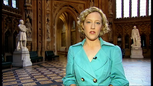 news of the world phone hacking scandal westminster houses of parliament ext former plaid cymru mp and former member of the culture select committee... - レベッカ ブルックス点の映像素材/bロール