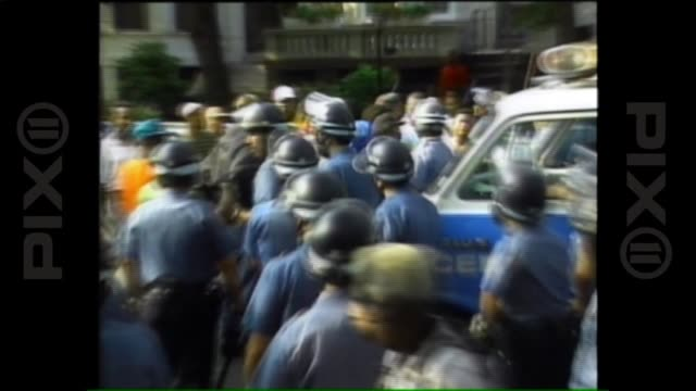 WPIX News Report on Day 3 of 1991 Crown Heights Riots on Aug 21 1991