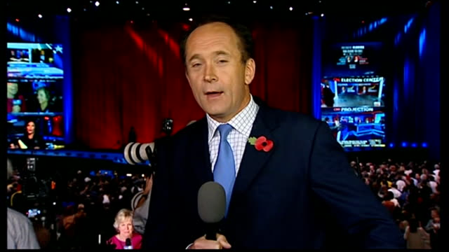 us presidential election 2012 0330 0430 studio stewart robert moore live 2way interview from obama camp in chicago as california announced for obama... - 2012 united states presidential election stock videos & royalty-free footage