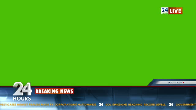 hd: tv news template - breaking news stock videos and b-roll footage