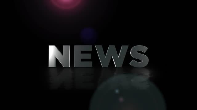 4k news word, business digital technology concept, network background - tv reporter stock videos & royalty-free footage