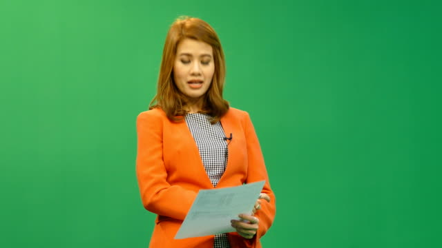 hd: newscaster reading a news bulletin, 3 scenes. - candidate stock videos & royalty-free footage