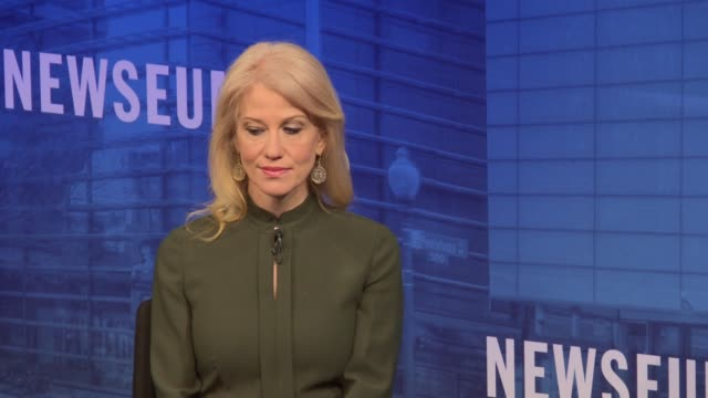 kellyanne conway part 2 of 7 over four hours and seven sessions, the nation's leading journalists and white house communications staff – past and... - msnbc stock videos & royalty-free footage