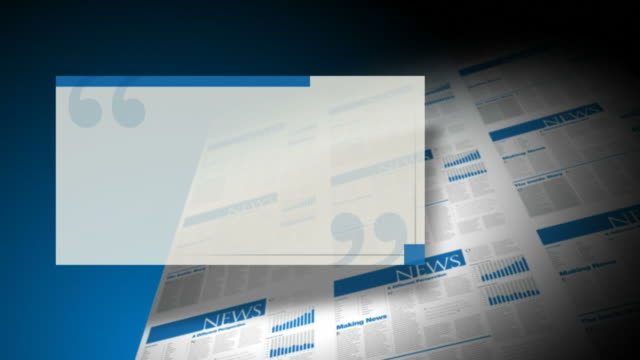newspaper or magazine pull-quote background plate - tearing stock videos & royalty-free footage