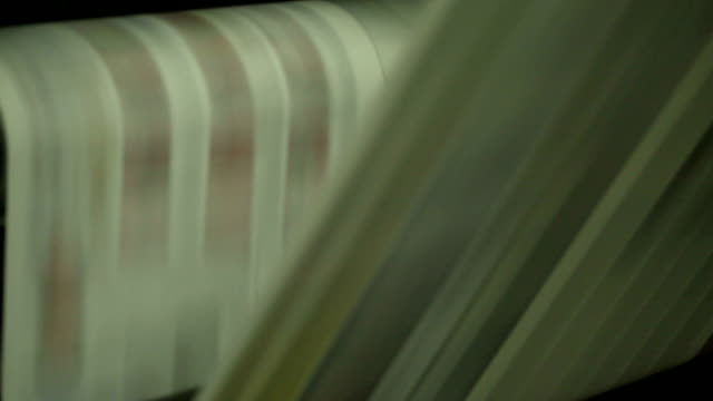 newspaper printing shop - old newspaper stock videos and b-roll footage