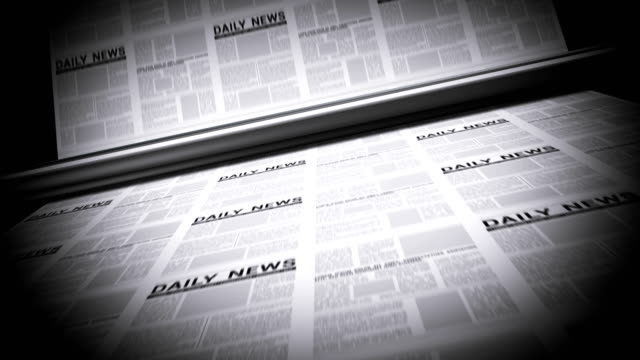 newspapers printing - printing out stock videos & royalty-free footage