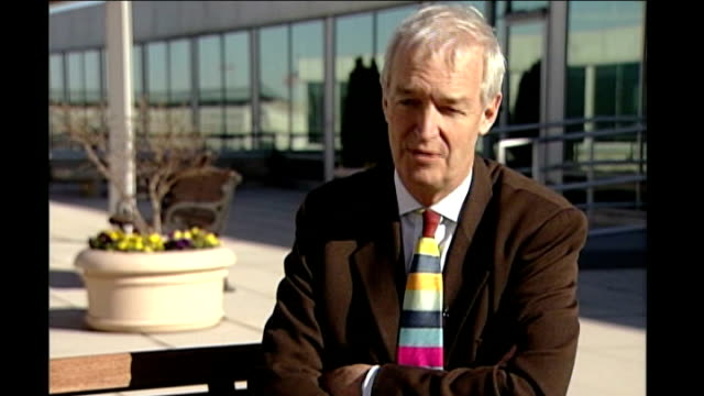 itn newsreader carol barnes dies jon snow interview sot wonderful person with a great sense of humour - jon snow newscaster stock videos and b-roll footage
