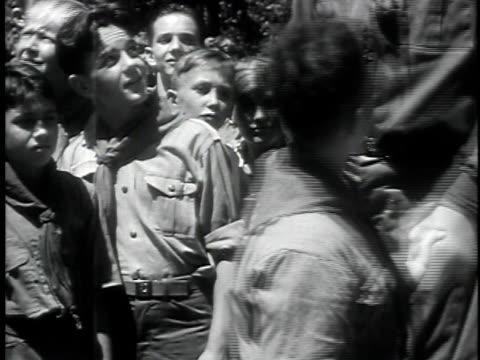 newsreel about robert wadlow world's tallest boy / atlanta georgia usa / audio - 1931 stock videos and b-roll footage