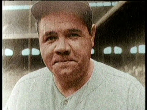Newsreel / George Herman Babe Ruth Jr dies on August 16 1948 funeral is held at St Patrick's Cathedral in New York / Mass performed by Cardinal...