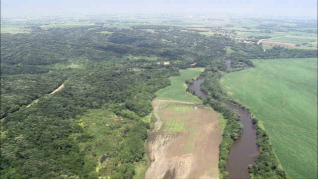 Newton Hills Park  - Aerial View - South Dakota, Lincoln County, United States