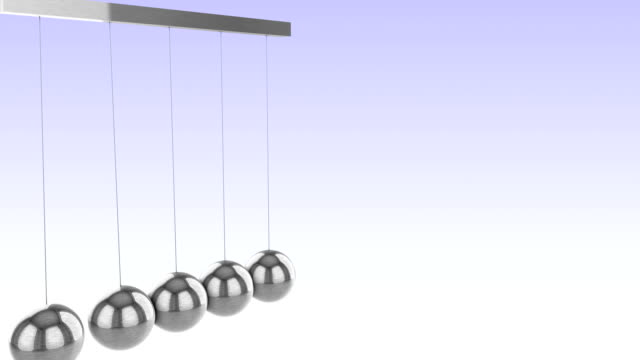 newtons cradle or executive ball clicker - loopable - partnership stock videos & royalty-free footage